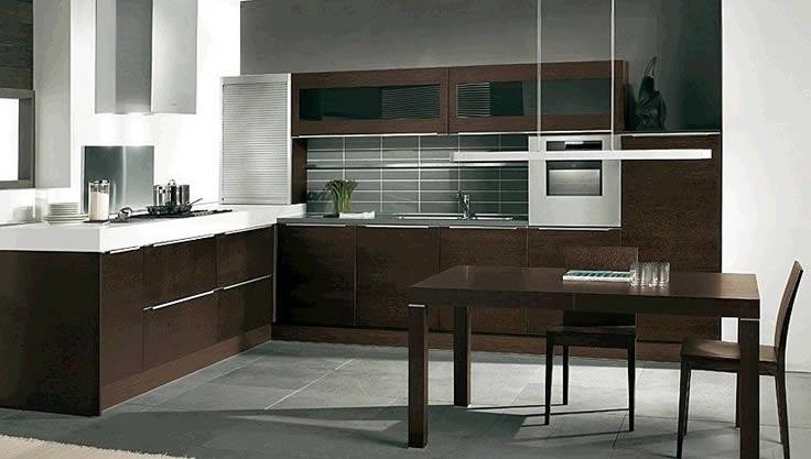 Cocinas gaz for Cocinas integrales modernas minimalistas