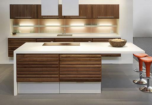 The gallery for cocinas integrales minimalistas for Cocinas integrales rusticas