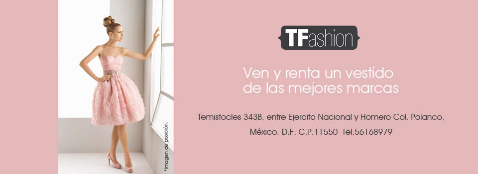 Tfashion Renta De Vestidos